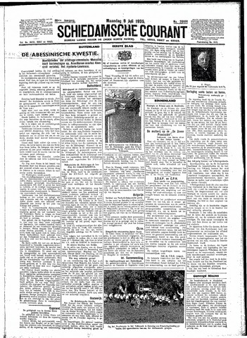 Schiedamsche Courant 1935-07-08