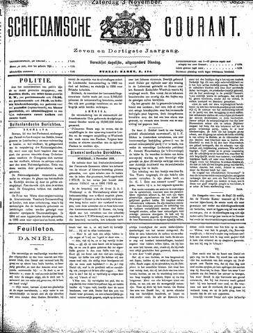Schiedamsche Courant 1883-11-03