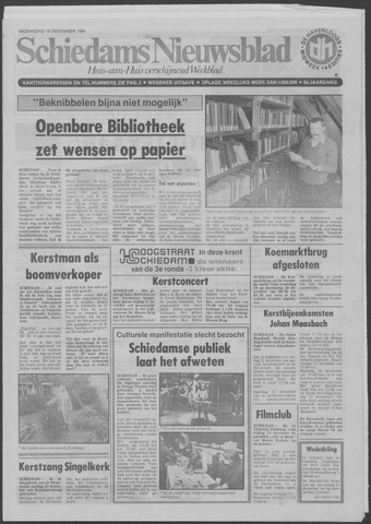 Schiedams Nieuwsblad 1984-12-19