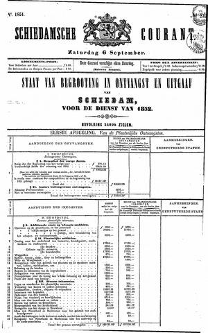 Schiedamsche Courant 1851-09-06