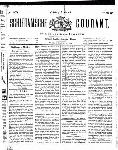 Schiedamsche Courant 1883-03-02