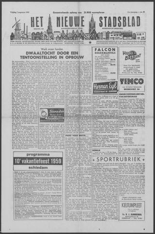 Het Nieuwe Stadsblad 1959-08-07