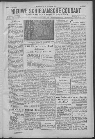 Nieuwe Schiedamsche Courant 1946-10-31