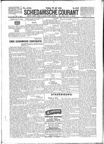 Schiedamsche Courant 1933-07-28