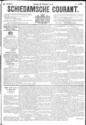 Schiedamsche Courant 1908-02-16