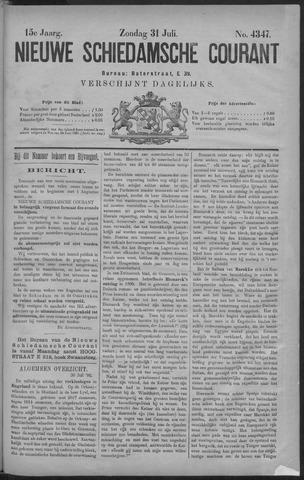 Nieuwe Schiedamsche Courant 1892-07-31