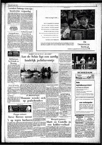Rotterdamsch Parool / De Schiedammer 1961-07-01