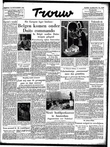 Trouw / De Rotterdammer 1953-11-13