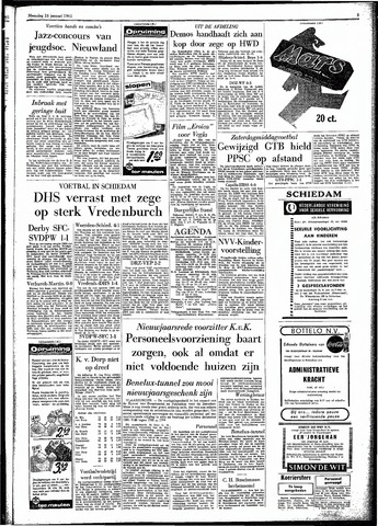 Rotterdamsch Parool / De Schiedammer 1961-01-16