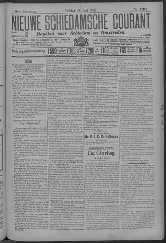 Nieuwe Schiedamsche Courant 1918-06-28