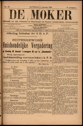 De Moker 1909-01-09