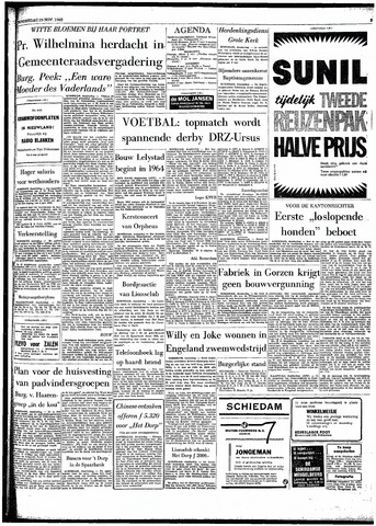 Rotterdamsch Parool / De Schiedammer 1962-11-29