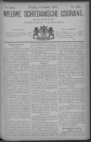Nieuwe Schiedamsche Courant 1886-10-15