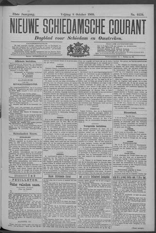 Nieuwe Schiedamsche Courant 1909-10-08