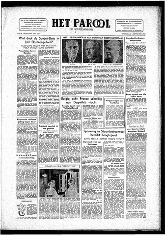 Rotterdamsch Parool / De Schiedammer 1946-09-04