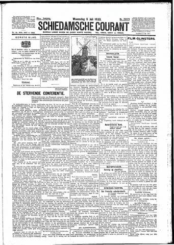 Schiedamsche Courant 1933-07-05
