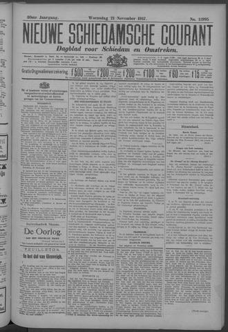 Nieuwe Schiedamsche Courant 1917-11-21