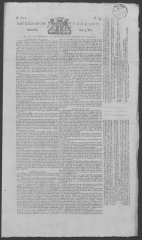 Rotterdamse Courant 1823-05-03