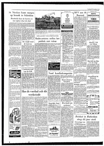 Rotterdamsch Parool / De Schiedammer 1955-11-25