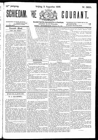 Schiedamsche Courant 1898-08-05
