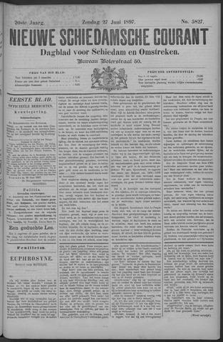 Nieuwe Schiedamsche Courant 1897-06-27