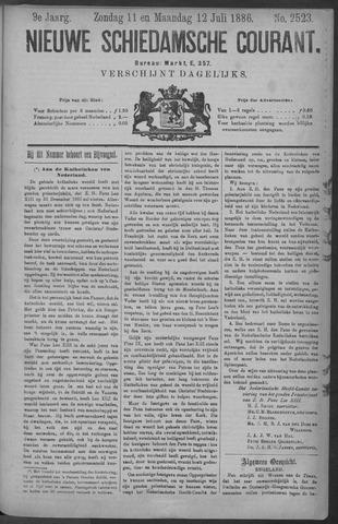 Nieuwe Schiedamsche Courant 1886-07-12