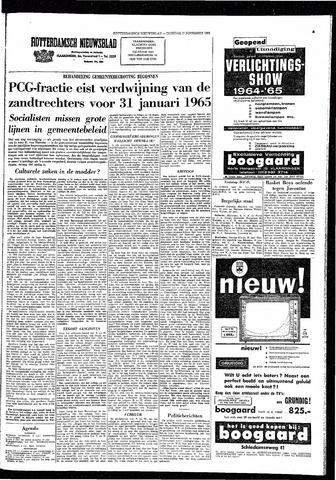 Rotterdamsch Nieuwsblad / Schiedamsche Courant / Rotterdams Dagblad / Waterweg / Algemeen Dagblad 1964-11-17