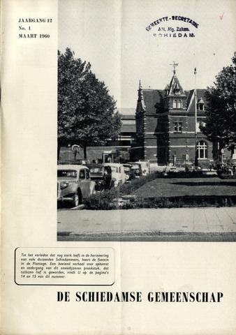 Schiedamse Gemeenschap (tijdschrift) 1960-03-01