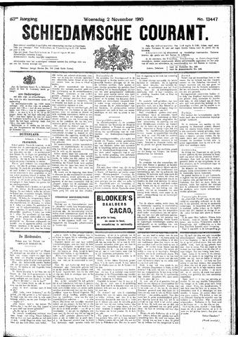 Schiedamsche Courant 1910-11-02