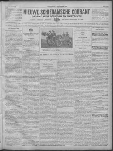Nieuwe Schiedamsche Courant 1932-11-09