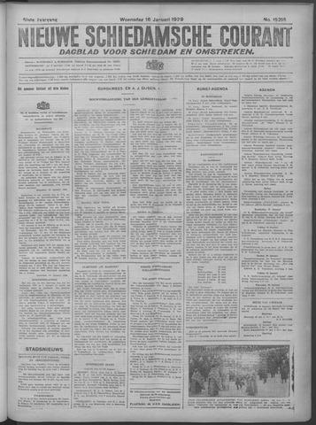 Nieuwe Schiedamsche Courant 1929-01-16