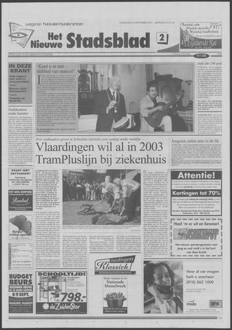 Het Nieuwe Stadsblad 2001-09-06