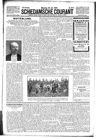 Schiedamsche Courant 1929-07-29