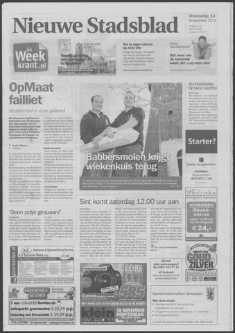 Het Nieuwe Stadsblad 2012-11-14