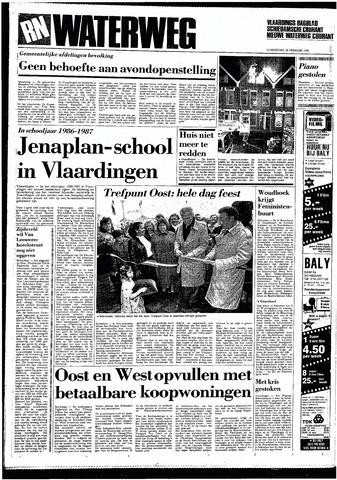 Rotterdamsch Nieuwsblad / Schiedamsche Courant / Rotterdams Dagblad / Waterweg / Algemeen Dagblad 1985-02-28