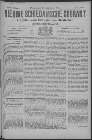 Nieuwe Schiedamsche Courant 1897-08-26