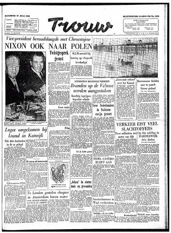 Trouw / De Rotterdammer 1959-07-27