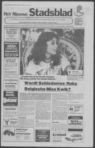 Het Nieuwe Stadsblad 1981-07-31