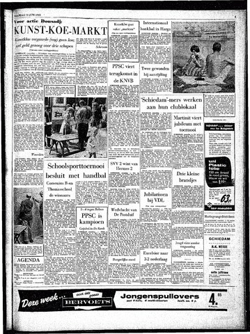 Rotterdamsch Parool / De Schiedammer 1963-06-10