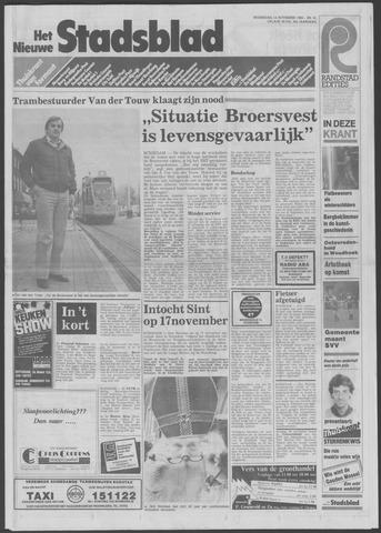 Het Nieuwe Stadsblad 1984-11-14