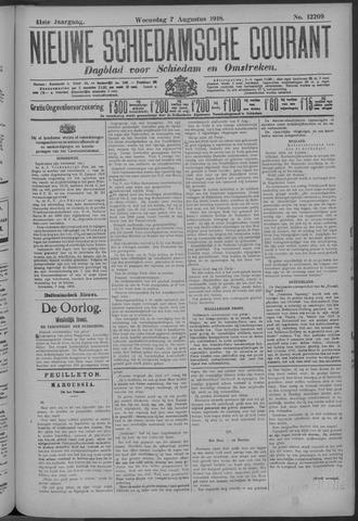Nieuwe Schiedamsche Courant 1918-08-07