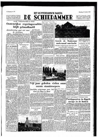 Rotterdamsch Parool / De Schiedammer 1949-10-10