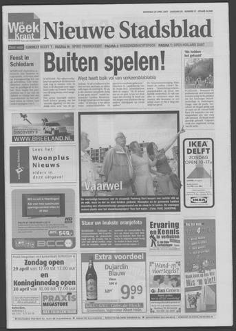 Het Nieuwe Stadsblad 2007-04-25