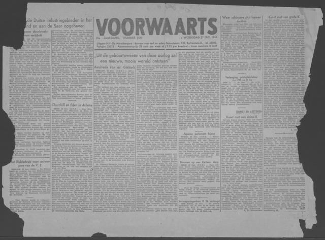 Voorwaarts 1944-12-27
