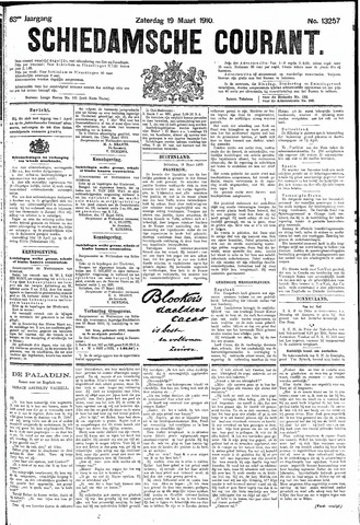 Schiedamsche Courant 1910-03-19