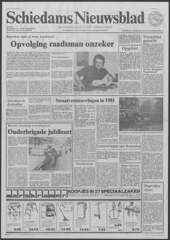 Schiedams Nieuwsblad 1981-02-11