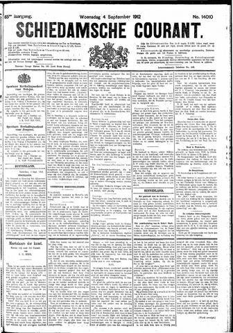 Schiedamsche Courant 1912-09-04