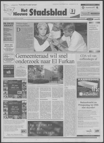 Het Nieuwe Stadsblad 2002-09-19