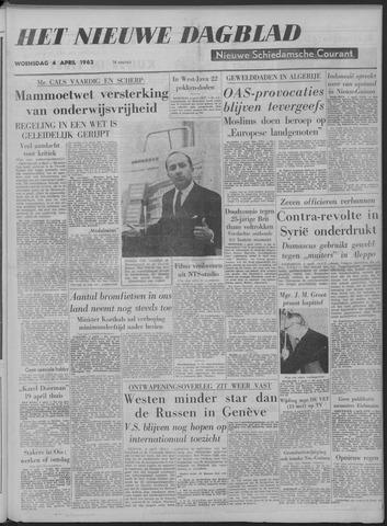 Nieuwe Schiedamsche Courant 1962-04-04