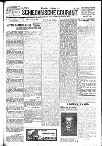 Schiedamsche Courant 1931-03-23